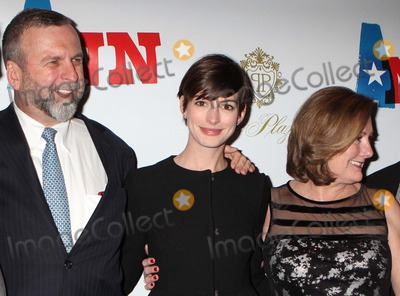 Ann Richards Photo - Anne Hathaway Father Gerald Hathaway and Mother Kate Hathaway Arriving at the Opening Night Performance of Ann Starring Holland Taylor As Governor Ann Richards at Lincoln Centers Vivian Beaumont Theatre in New York City on 03-07-2013 Photo by Henry Mcgee-Globe Photos Inc 2013