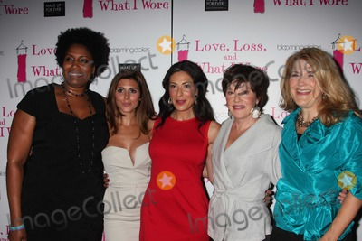 Stacy London Photo - NYC  090210New cast members Nancy Giles Jamie-Lynn Sigler Stacy London Helen Carey and Victoria Clark at the party to celebrate the new cast of the Off-Broadway play Love Loss and What I Wore at 44 12Photo by Adam Nemser-PHOTOlinknet