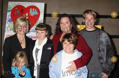 Kelly ODonnell Photo - Rosie ODonnell Kelli kids4892JPGNYC  011910Rosie ODonnell with former partner Kelli ODonnell and their 4 kids Parker ODonnell (14 12 years old) Chelsea ODonnell (12 12) Blake ODonnell (9 years old) and Vivienne ODonnell (7 years old) at a screening of her new HBO documentary A Family Is a Family Is a Family A Rosie ODonnell Celebration at the HBO officesDigital Photo by Adam Nemser-PHOTOlinknet
