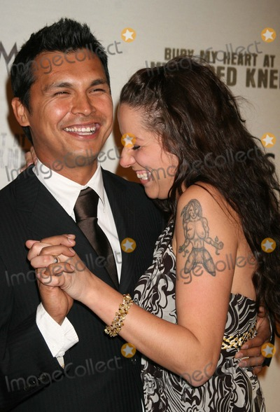 Adam Beach Photo - Adam_Beach_wife5460JPGNYC  052307Adam Beach and wife Tara premiere of his new movie BURY MY HEART AT WOUNDED KNEE at the American Museum of Natural HistoryDigital Photo by Adam Nemser-PHOTOlinknet