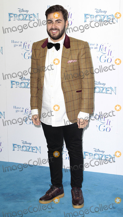 Andrea Faustini Photo - Nov 17 2014 - London England UK - Frozen Celebrity Singalong - Red Carpet Arrivals Royal Albert Hall KensingtonPhoto Shows Andrea Faustini