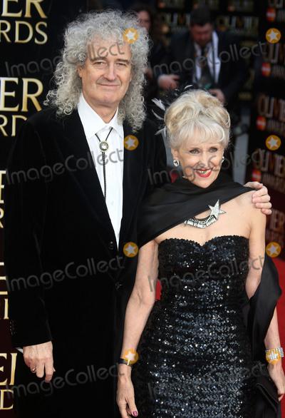 Anita Dobson Photo - April 3 2016 - Brian May and Anita Dobson attending The Olivier Awards 2016 at Royal Opera House Covent Garden in London UK
