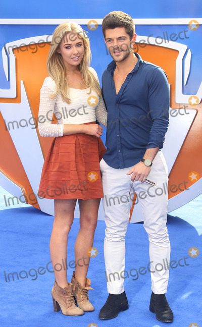 Alex Mytton Photo - LONDON ENGLAND UK - MAY 17 - Nicola Hughes and Alex Mytton attends Tomorrowland A World Beyond European Premiere  on May 17 2015 in London England