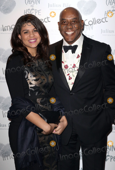 Ainsley Harriott Photo - Nov 20 2015 - London England UK - Ainsley Harriott and daughter Maddie Harriott attending Chain of Hope Annual Ball Grosvenor House Hotel