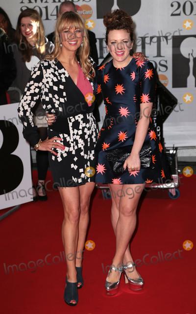 Annie Mac Photo - Feb 19 2014 - London England UK - Brit Awards 2014 O2 Arena LondonPictured Sara Cox and Annie Mac