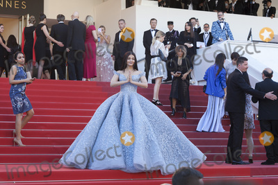 Aishwarya Ray Photo - CANNES FRANCE - MAY 19 Aishwarya Rai Bachchan attends the Okja screening during the 70th Annual Cannes Film Festival at Palais des Festivals on May 19 2017 in Cannes France(Photo by Laurent KoffelImageCollectcom)