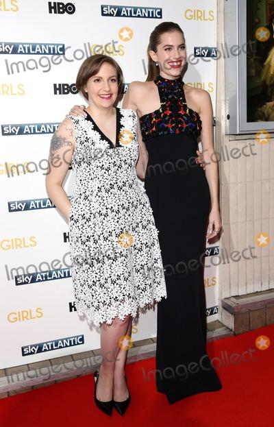 Lena Dunham Photo - Janaury 15 2014 LondonLena Dunham and Allison Williams at the UK premiere of Girls the third series held at the Cineworld Haymarket on Janaury 15 2014 in London