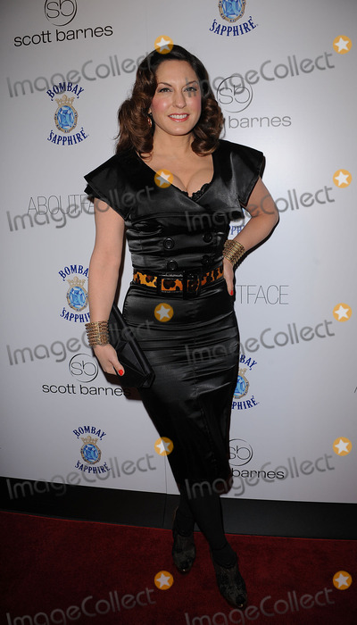 SCOTT BARNES Photo - Singer Sylvia Tosun arriving at the launch party for Scott Barnes About Face book at Provocateur at The Hotel Gansevoort on January 20 2010 in New York City