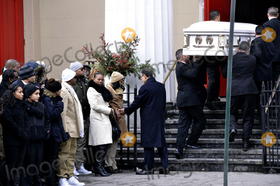 Avonte Oquendo Photo - January 25 2014 New York CityThe funeral of Avonte Oquendo took place at  the Church of Saint Joseph in Greenwich Village on January 25 2014 in New York CityIt was  led by the former Roman Catholic archbishop of New York Cardinal Edward Egan Avonte Oquendo who was autistic went missing from his Queens school in October