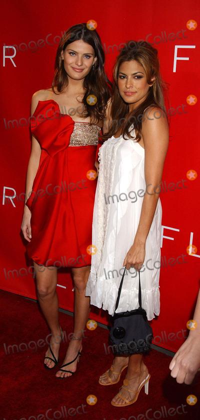 Isabeli Fontana Photo - Isabeli Fontana and Eva Mendes at the Revlon Launches Flair Fragrance At Mr Chow Tribeca