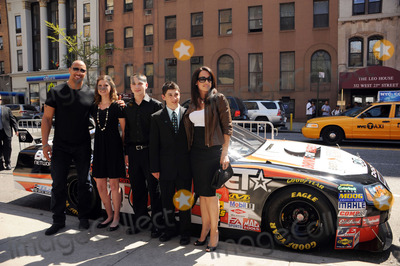 Dany Garcia Photo - L-R) Producer Dwayne Johnson racer Annabeth Barnes racer Brandon Warren racer Joshua Hobson and producer Dany Garcia at the premiere of Racing Dreams during the 2009 Tribeca Film Festival at SVA Theater on April 25 2009 in New York City