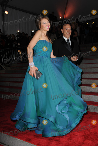Thalia Mottola Photo - Tommy Mottola and Thalia arriving at The Model as Muse Embodying Fashion Costume Institute Gala at The Metropolitan Museum of Art on May 4 2009 in New York City