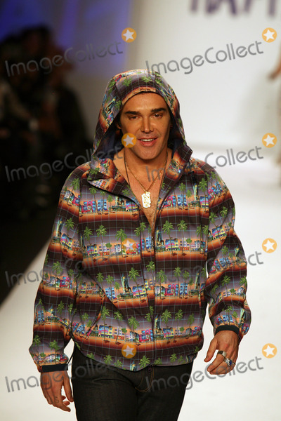 David La Chapelle Photo - David LaChapelle on the runway for Naomi Campbells Fashion For Relief Haiti NYC 2010  show during the fall 2010 Mercedes-Benz Fashion Week in New York February 12 2010