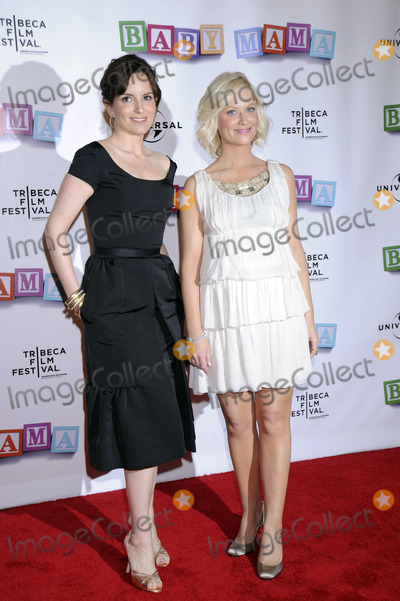 TINY FEY Photo - Actresses Tiny Fey and Amy Poehler attend the 7th Annual Tribeca Film Festivals Baby Mama Premiere at the Ziegfeld Theatre