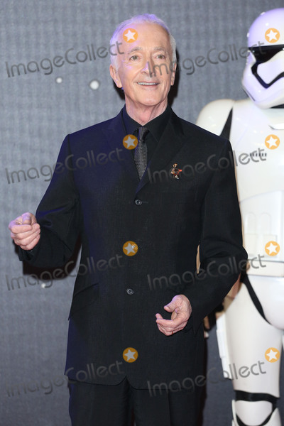 Anthony Daniels Photo - Anthony Daniels at the European premiere of Star Wars The Force Awakens in Leicester Square London December 16 2015  London UKPicture James Smith  Featureflash