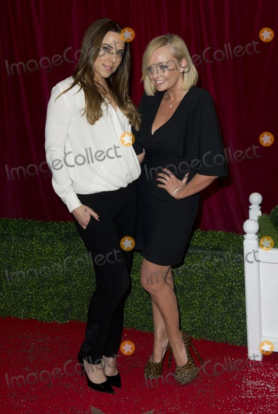 Emma Bunton Photo - Melanie C and Emma Bunton arriving for the 2012 British Soap Awards  LWT Southbank London28042012 Picture by Simon Burchell  Featureflash