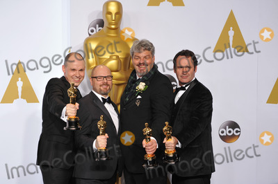 Andrew Lockley Photo - Paul Franklin  Andrew Lockley  Ian Hunter  Scott Fisher at the 87th Annual Academy Awards at the Dolby Theatre HollywoodFebruary 22 2015  Los Angeles CAPicture Paul Smith  Featureflash