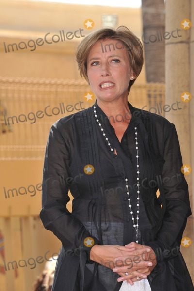 Emma Thompson Photo - Actress Emma Thompson on Hollywood Boulevard where she was honored with the 2416th star on the Hollywood Walk of Fame The star is located outside The Pig n Whistle British pub Her new movie Nanny McPhee Returns opens in the USA on August 20thAugust 6 2010  Los Angeles CAPicture Paul Smith  Featureflash