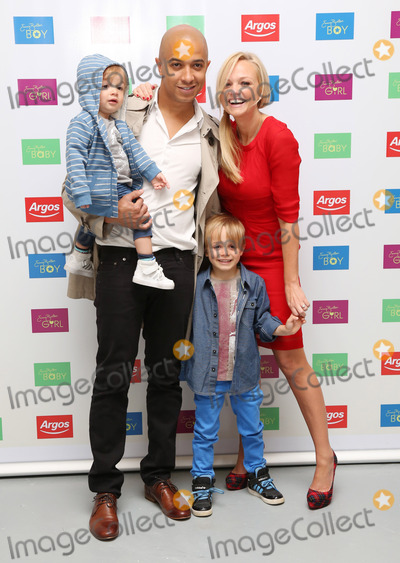 Emma Bunton Photo - Emma Bunton Jade Jones and their children Beau and Tate at the Launch of Emma Buntons AutumnWinter childrenswear range for Argos London England 19072012 Picture by Henry Harris  Featureflash