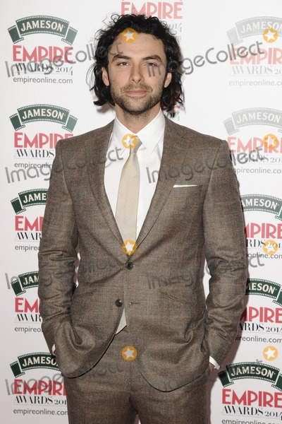Aidan Turner Photo - Aidan Turnerarives for the Empire Magazine Film Awards 2014 at the Grosvenor House Hotel London 30032014 Picture by Steve Vas  Featureflash