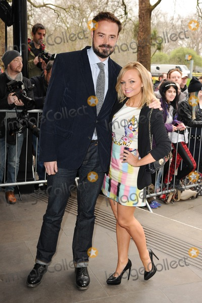 Emma Bunton Photo - Jamie Theakston and Emma Bunton arrives for the TRIC Awards 2014 at the Grosvenor House Hotel Mayfair  London 11032014 Picture by Steve Vas  Featureflash