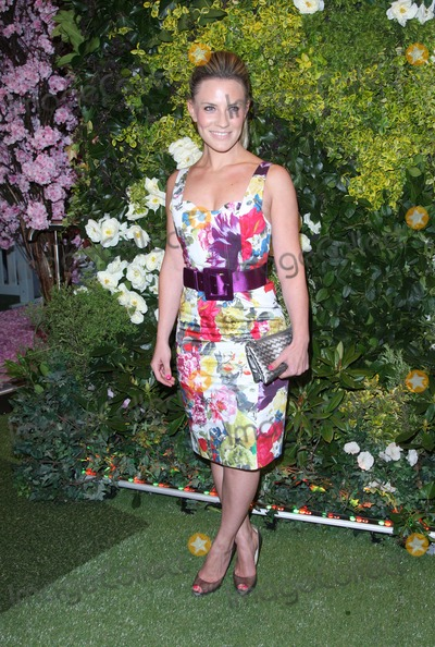 Georgie Thompson Photo - Georgie Thompson at the John Lewis Beauty Hall launch party - ArrivalsLondon 08052012 Picture by Henry Harris  Featureflash