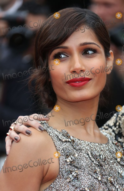 Freida Pinto Photo - Freida Pinto at the 66th Cannes Film Festival - The Bling Ring premiereCannes France 16052013 Picture by Henry Harris  Featureflash