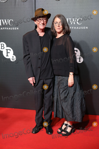 Anwen Rees-Myer Photo - John Hurt Anwen Rees-Myers at the 2015 BFI LUMINOUS Gala dinner at the Guildhall LondonOctober 6 2015  London UKPicture James Smith  Featureflash