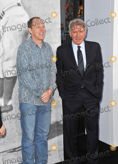 Brian Helgeland Photo - Harrison Ford (right)  writerdirector Brian Helgeland at the Los Angeles premiere of their new movie 42 The True Story of An American Legend at the Chinese Theatre HollywoodApril 9 2013  Los Angeles CAPicture Paul Smith  Featureflash
