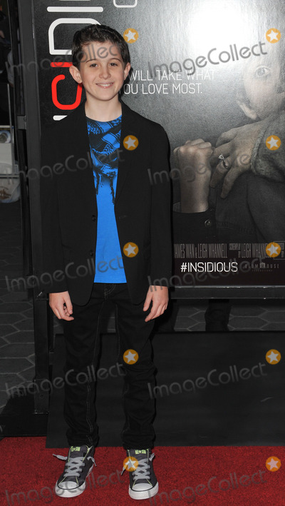 Andrew Astor Photo - Andrew Astor at the world premiere of his movie Insidious Chapter 2 at Universal Citywalk HollywoodSeptember 10 2013  Los Angeles CAPicture Paul Smith  Featureflash