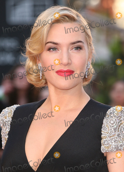 Kate Winslet Photo - Kate Winslet arriving for the Titanic 3D film premiere Royal Albert Hall London 27032012 Picture by Alexandra Glen  Featureflash