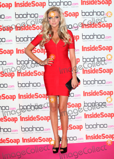 Alice Barlow Photo - Alice Barlow arriving for the 2012 Inside Soap Awards at No1 Marylebone London 24092012 Picture by Alexandra Glen  Featureflash
