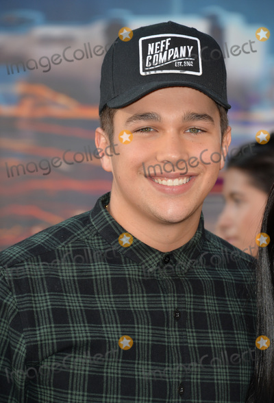 Austine Mahone Photo - LOS ANGELES CA July 9 2016 Singer Austin Mahone at the Los Angeles premiere of Ghostbusters at the TCL Chinese Theatre HollywoodPicture Paul Smith  Featureflash