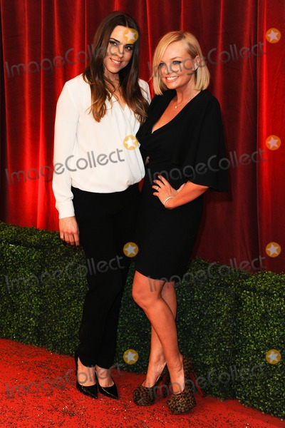 Emma Bunton Photo - Melanie C and Emma Bunton arriving for the British Soap Awards 2012 at London TV Centre South Bank London28042012 Picture by Steve Vas  Featureflash