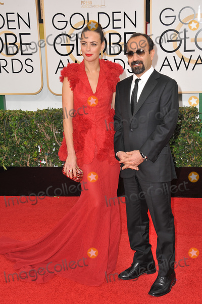 Asghar Farhadi Photo - Berenice Bejo  Asghar Farhadi at the 71st Annual Golden Globe Awards at the Beverly Hilton HotelJanuary 12 2014  Beverly Hills CAPicture Paul Smith  Featureflash