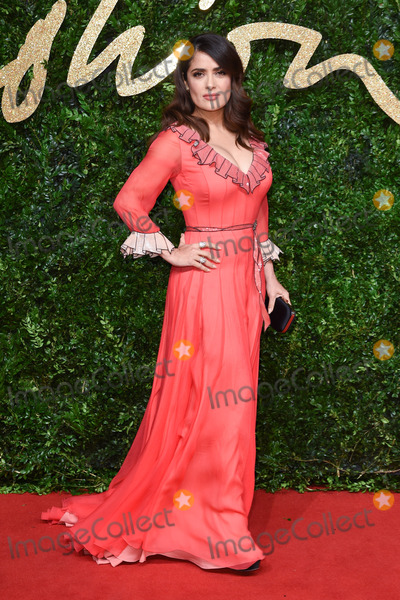 Salma Hayek Photo - Salma Hayek at the British Fashion Awards 2015 at the Coliseum Theatre LondonNovember 23 2015  London UKPicture Steve Vas  Featureflash