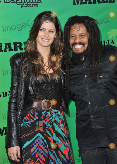 Isabeli Fontana Photo - Rohan Marley  Isabeli Fontana at the Los Angeles premiere of Marley at the Cinerama Dome HollywoodApril 17 2012  Los Angeles CAPicture Paul Smith  Featureflash