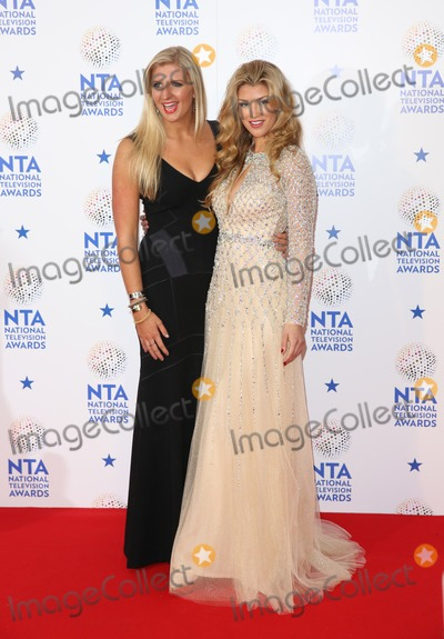 Rebecca Adlington Photo - Rebecca Adlington Amy WillertonThe National Television Awards 2014 (NTAs) held at the O2 Arena - Press Room London 22012014 Picture by Henry Harris  Featureflash