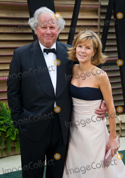 Anna Scott Photo - Vanity Fair Editor-in-Chief Graydon Carter Anna Scott Carter arriving for the 2014 Vanity Fair Oscars Party Los Angeles 02032014 Picture by James McCauleyFeatureflash
