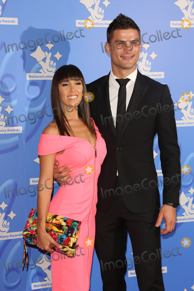 Aljaz Skorjanec Photo - Janette Manrara  Aljaz Skorjanec at The National Lottery Awards 2015 held at the London Studios September 11 2015  London UKPicture James Smith  Featureflash