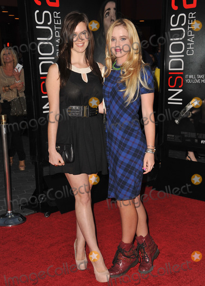 Katie Featherston Photo - Katie Featherston (left)  Kathryn Newton at the world premiere of Insidious Chapter 2 at Universal Citywalk HollywoodSeptember 10 2013  Los Angeles CAPicture Paul Smith  Featureflash