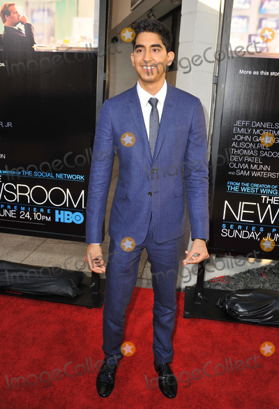 Dev Patel Photo - Dev Patel at the Los Angeles premiere for HBOs new series The Newsroom at the Cinerama Dome HollywoodJune 21 2012  Los Angeles CAPicture Paul Smith  Featureflash