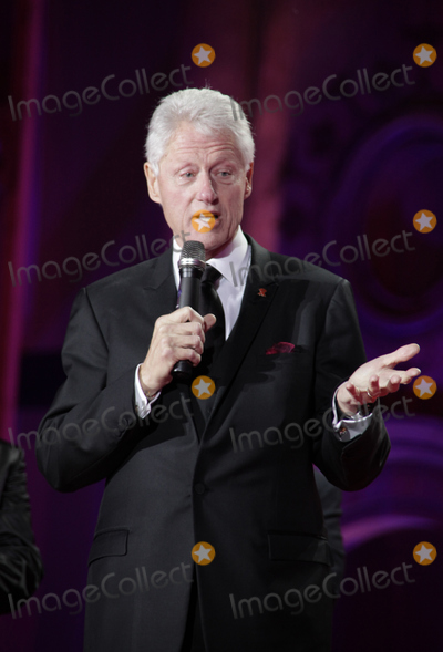 Bill Clinton Photo - Bill Clinton on stage during the Life Ball 2013 held in Vienna Austria 25052013 Manuela LarisseggerCatchlightMediaFeatureflash