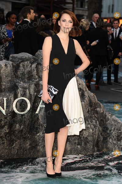 Charlotte Ritchie Photo - Charlotte Ritchie arriving for the UK Premiere or Noah at Odeon Leicester Square London 31032014 Picture by Steve Vas  Featureflash