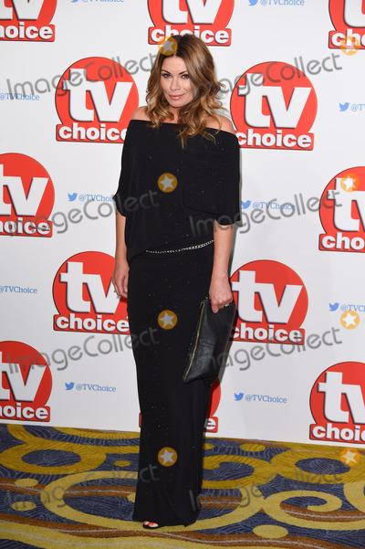 Alison King Photo - Alison King at the TV Choice Awards 2015 at the Hilton Hotel Park Lane LondonSeptember 7 2015  London UKPicture Steve Vas  Featureflash