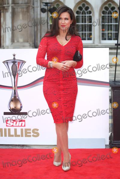 Susanna Reid Photo - Susanna Reid at The Sun Military Awards 2016 (Millies) held at the Guildhall London January 22 2016  London UKPicture James Smith  Featureflash