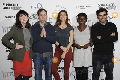 Jordan Vogt-Roberts Photo - Alice Lowe Mike Birbiglia Lake Bell Destiny Ekaraghia and Jordan Vogt-Roberts arriving for the Senses of Humor panel event as part of the Sundance London Festival 2013 at the O2 Greenwich London27042013 Picture by Steve Vas  Featureflash