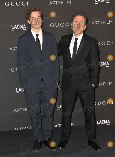 Tim Roth Photo - Tim Roth  son at the 2014 LACMA ArtFilm Gala at the Los Angeles County Museum of ArtNovember 1 2014  Los Angeles CAPicture Paul Smith  Featureflash