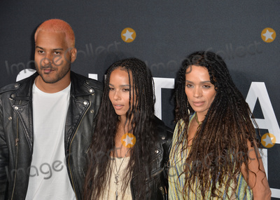 Lisa Bonet Photo - Musician Twin Shadow  actresses Zoe Kravitz  Lisa Bonet arriving at the Saint Laurent at the Palladium fashion show at the Hollywood PalladiumFebruary 10 2016  Los Angeles CAPicture Paul Smith  Featureflash
