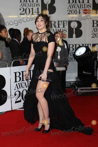 Daisy Lowe Photo - Daisy Lowe arriving at The Brit Awards (Brits) 2014 held at the O2 London 19022019 Picture by Henry Harris  Featureflash